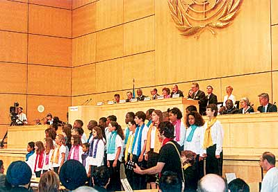 Jonas Choir UN Geneva