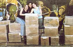 Sabine Finci, Zoé Glaser & Charlotte Vérolet and their books...