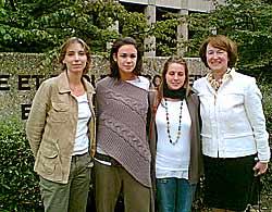 Madame Py-Dard, Morgane, Julie, Madame Evelyne Fiechter.