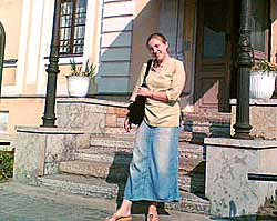 Svetlana Bezroutchenko, director of the centre 'Dom Miloserdie'.