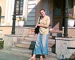 Svetlana Bezroutchenko, director of the centre 'Dom Miloserdie'.
