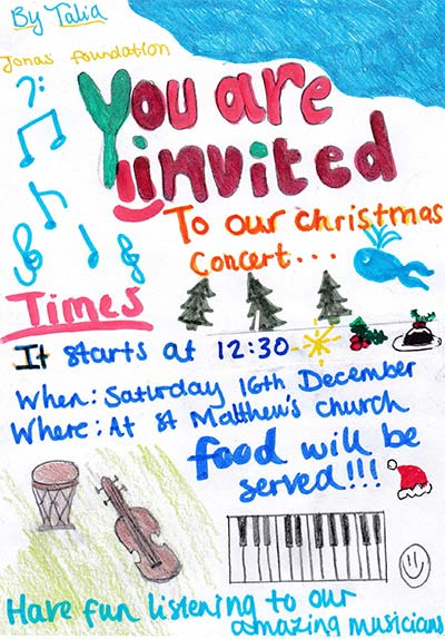 Jonas Foundation London Christmas Concert